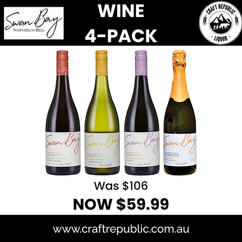 Swan Bay Winery Christmas 4 Pack 750mL