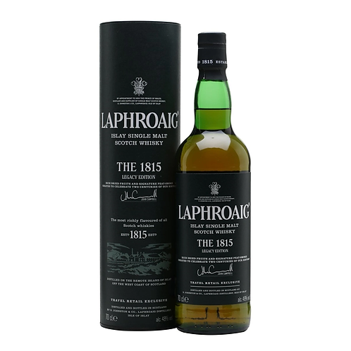 Laphroaig 1815 Legacy Single Malt Scotch Whisky 48% 700mL