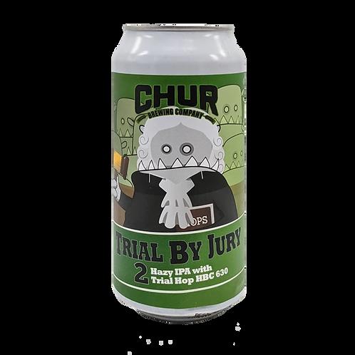 Chur Hazy IPA Trial By Jury #2 Experimental Hop 6.3% Can 440mL
