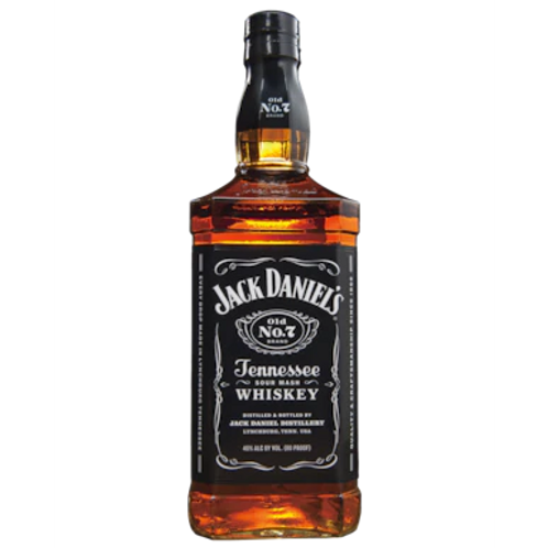 Jack Daniels Black Label Tennessee Sour Mash Whiskey Btl 700mL