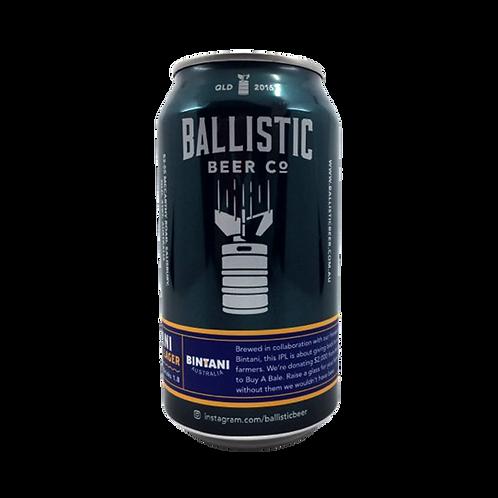 Ballistic Beer Co Bintsni I P L 6.1% Can 375mL