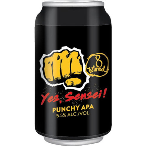 8 Wired Yes, Sensei Punchy ! APA Can 330mL
