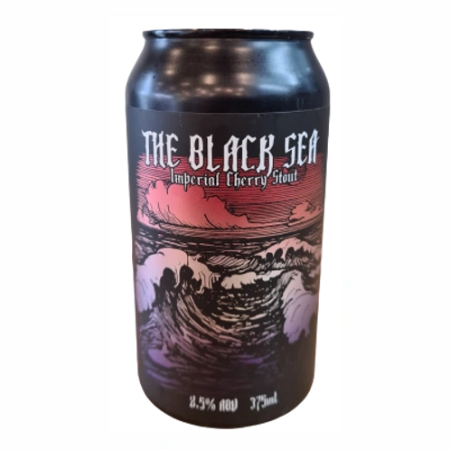 Bonehead Brewing The Black Sea Imperial Cherry Stout 8.5% Can 375mL