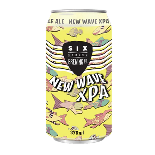 Six String New Wave XPA 4.2% Can 375mL