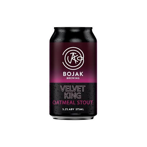 Bojak Brewing Velvet King Oatmeal Stout Can 375mL