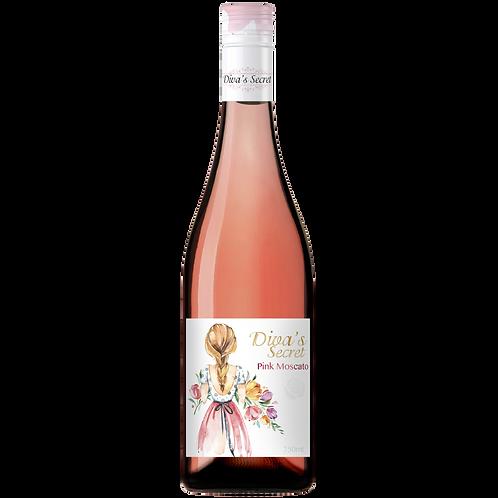 Diva's Secret Victorian Pink Moscato 6.2% Btl 750mL