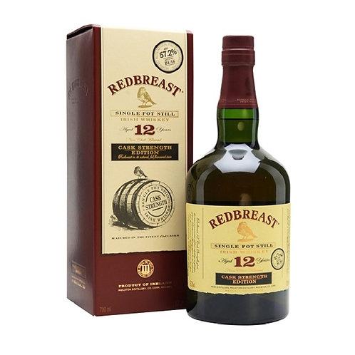 Redbreast 12 Year Old Single Pot Still Irish Whiskey 57.2% 700mL