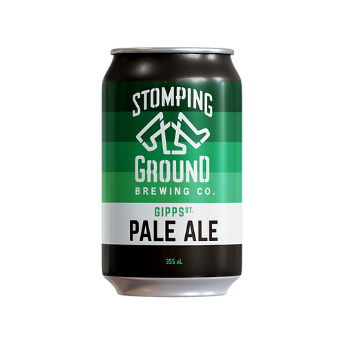 Stomping Ground Gipp Street Pale Ale 5.2% Can 375mL
