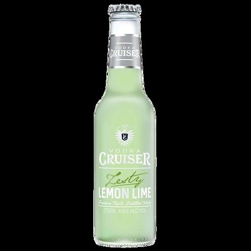 Vodka Cruiser Zesty Lemon Lime 4.6% Stubb 275mL