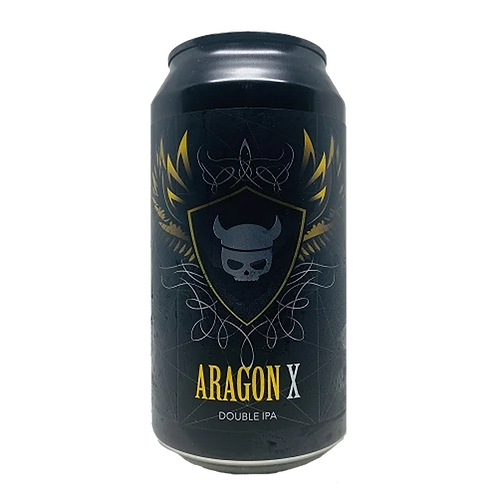 Valhalla Brewing Aragon X Double IPA 8% Can 375mL