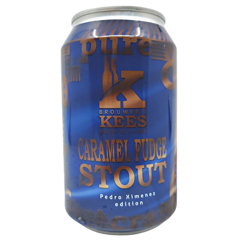 Kees Brouwerij Caramel Fudge Stout (Pedro Ximenez Edition) 11.5% Can 330mL