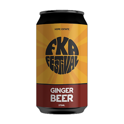 Hope Estate FKA Ginger Beer 4.2% Can 375mL