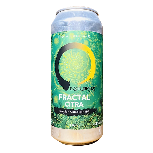 Equilibrum Brewery Fractal Citra 6.8% Can 473mL