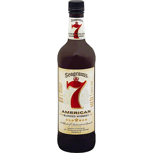 Seagram's 7 Crown American Whiskey 40% 750mL