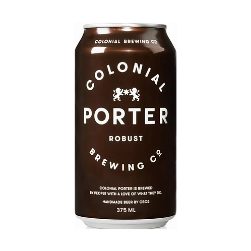 Colonial Porter 5% Can 375mL