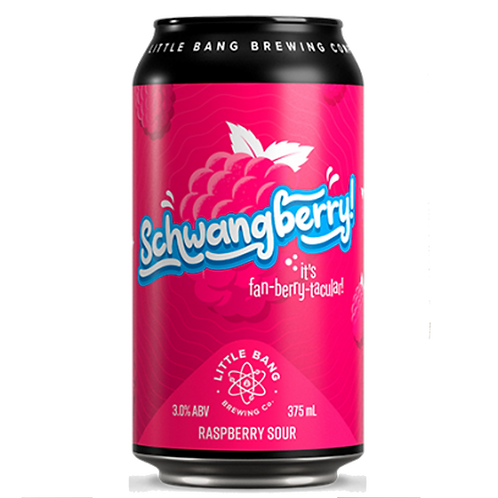 Little Bang Schwangberry - Raspberry S our 3% Can 375mL