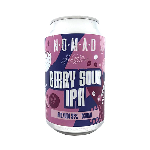 Nomad Brewing Co Berry Sour IPA 5% Can 330mL