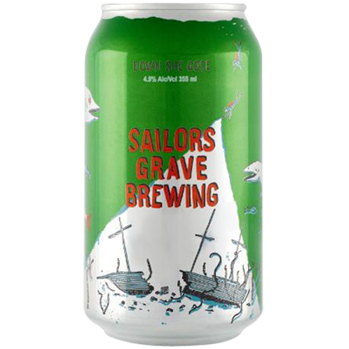 Sailors Grave Down She Gose 4.5% Can 355mL