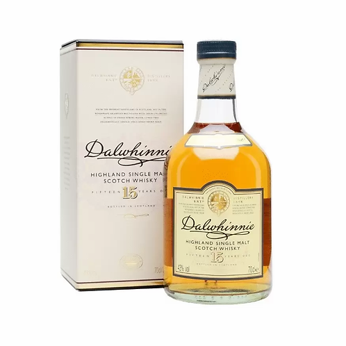 Dalwhinnie 15 Year Old Highland Single Malt Whisky 43% Btl 700mL