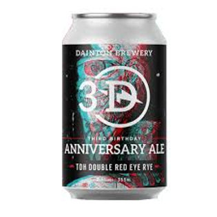 Dainton Brewery 3rd Birthday Anniversary Ale 8.1% Can 355mL