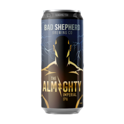 Bad Shepherd 2020 The Almighty DIPA 8.5% Can 440mL