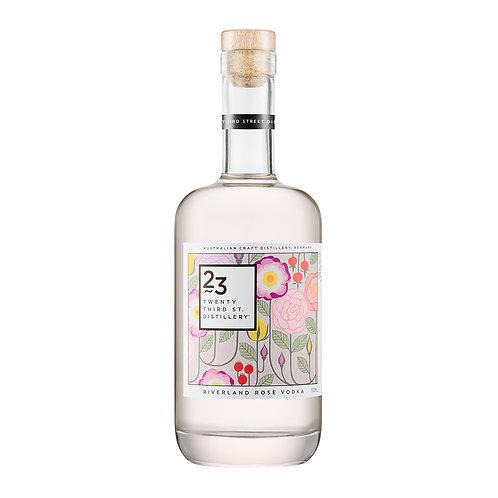23rd Street Riverland Rose Vodka 40% Btl 750mL
