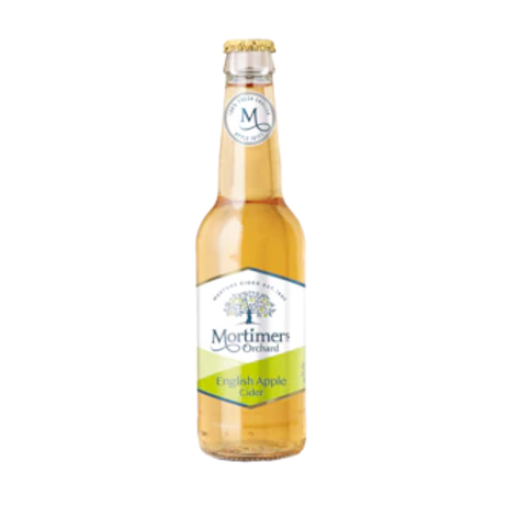 Mortimers Orchard English Apple Cider 4% Btl 330mL