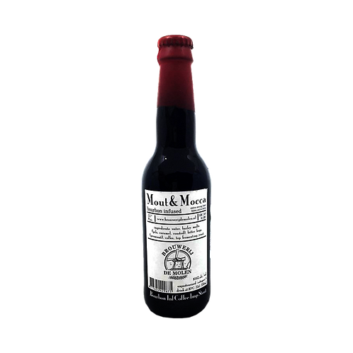 De Molen BA Bourbon Infused Mout & Mocca 10.6% Btl 330mL