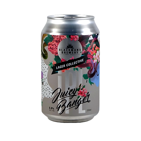 Blackman's Juicy Banger Lager 5.8% Can 330mL