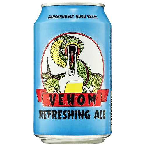 Venom Refreshing Ale 3.5% Can 330mL