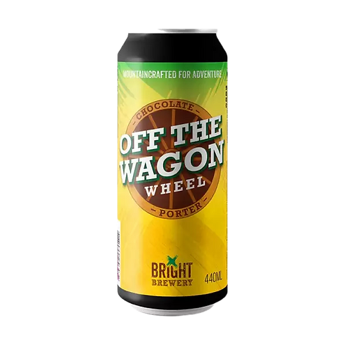 Bright Brewery Off the Wagon Wheels Porter 5.8% Can 440mL