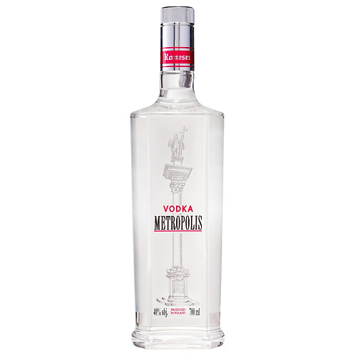 Metropolis Vodka 40% 700mL
