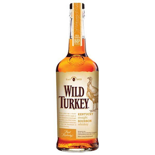 Wild Turkey Bourbon Whiskey 43.4% Btl 700mL