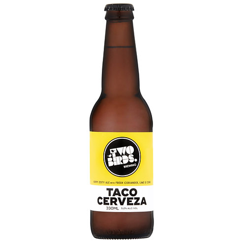 Two Birds Taco Cerveza 5.2% Btl 330mL