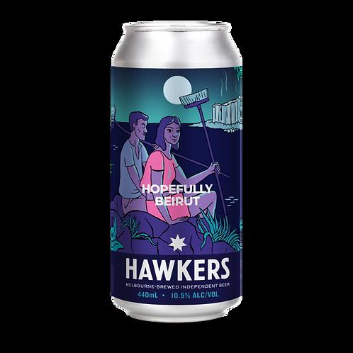 Hawkers Beer Hopefully Beirut Baklava Barleywine 10.5% Can 440mL