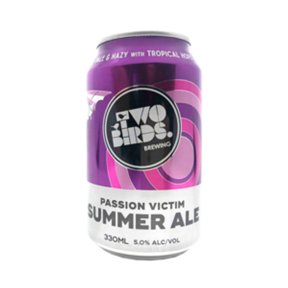 Two Birds Passion Victim Summer Ale 5% Can 300mL