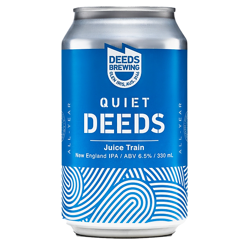 Deeds Brewing Juice Train NEIPA 6.5% Can 330mL