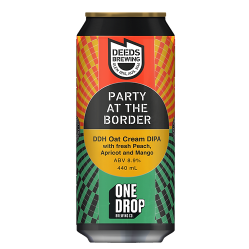 Deeds Brewing X One Drop Party at the Border 8.9% Can 440mL