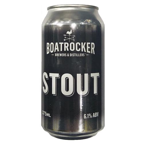 Boatrocker Stout 6.1% Can 375mL