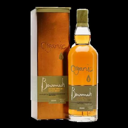 Benromach Organic Speyside Single Malt Whisky 700mL