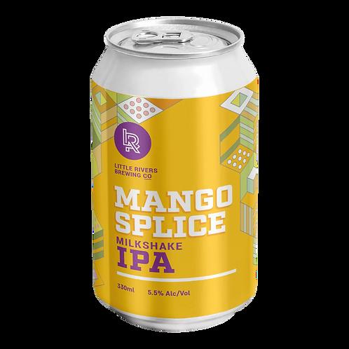 Little Rivers Brewing Co Mango Splice Milkshake IPA 5.5% 330mL