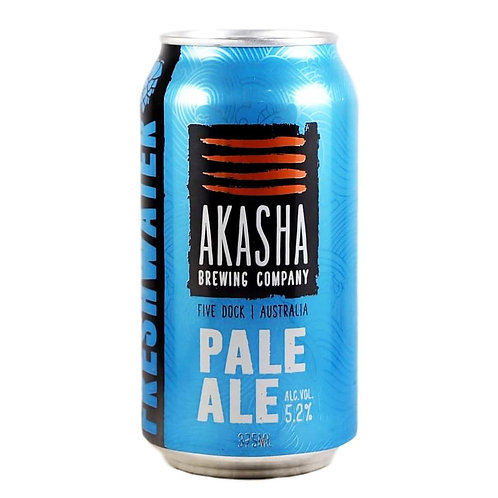 Akasha Brewing Pale Ale 5.2% Can 375mL