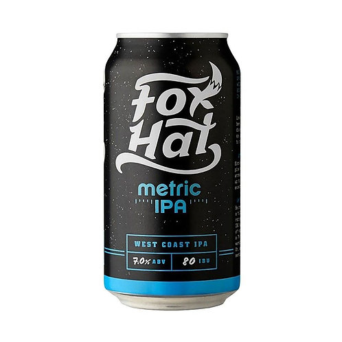 Fox Hat Metric IPA 7% Can 375mL