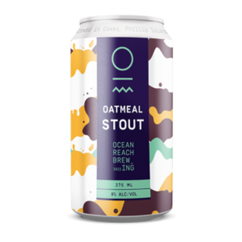 Ocean Reach Brewing Oatmeal Stout 7.9% Can 375mL