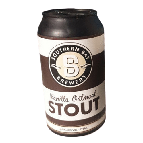 Southern Bay Brewing Vanilla Oatmeal Stout 6.5% Can 375mL
