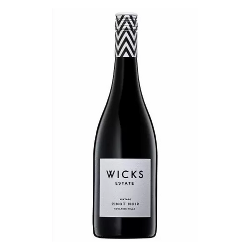 Wicks Estate 2019 Adelaide Hills Pinot Noir Btl 750mL