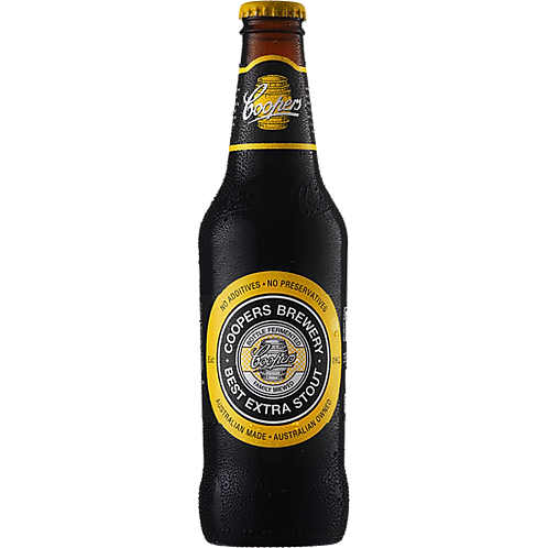 Coopers Brewery Best Extra Stout 6.3% Btl 375mL