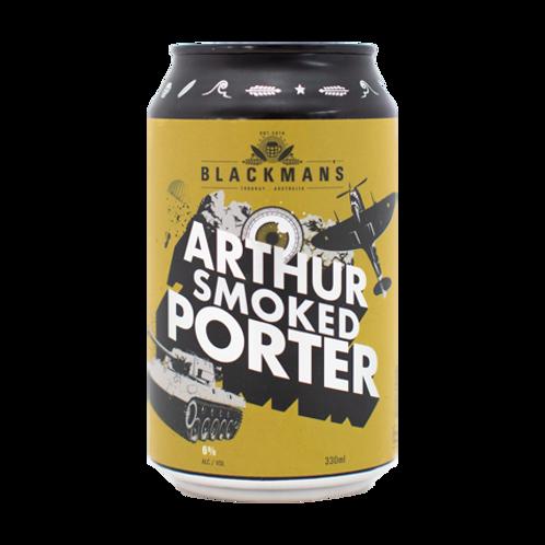 Blackmans Arthur Smoked Porter 6% Can 330mL
