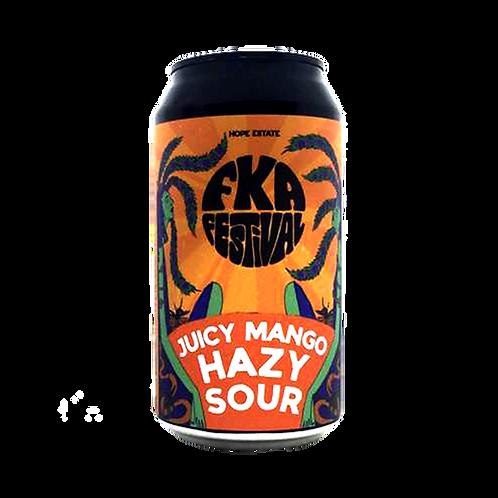 Hope Brewery FKA Juicy Mango Hazy Sour 6% Can 375mL