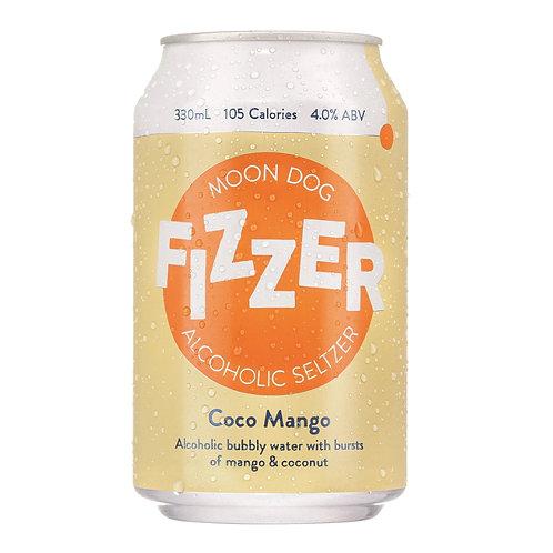 Fizzer Coco Mango Seltzer 4% 330mL